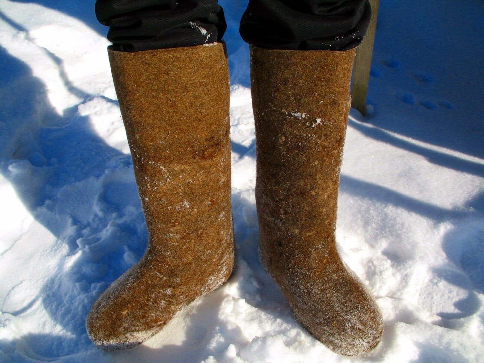 Felted Stiefel, Stiefel, RUSSIAN traditional winter Stiefel, Felted VALENKI, 100% wool fdf884