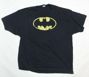 Batman-Classic-Logo-Distressed-Short-Sleeve-Adult-T-Shirt-Black-3XL