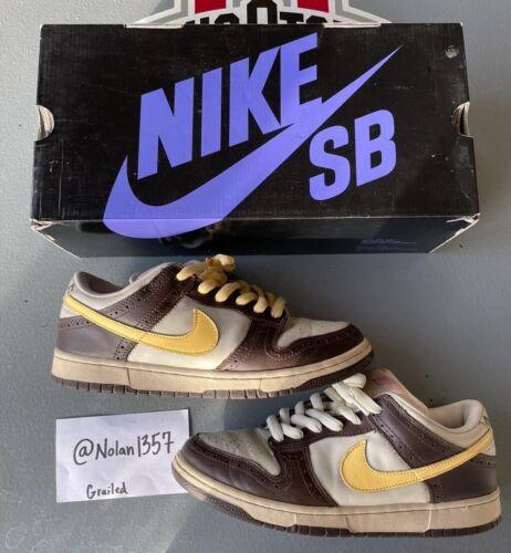 Nike Dunk Low Premium Sb Golf Brown  2005 Sz 11