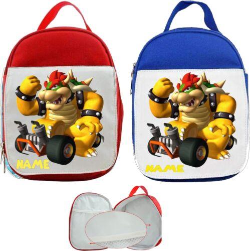 Navigateur Super Mario #1 personnalisé enfant sac à Lunch