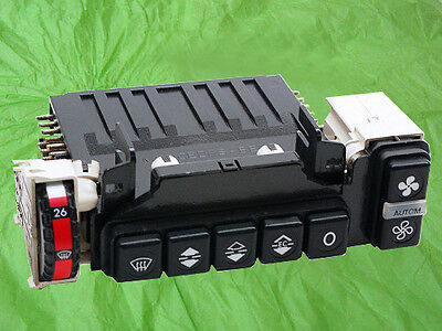 Mercedes-Benz 380SEL Climate Control Unit With Push Button Assembly Rebuilt