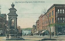 SAINT JOHN NB – King Street from King Square