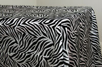 10 Zebra Tablecloths 57 X 108 Flocking Taffeta Overlays Banquet Wedding Animal