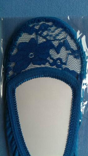 Onorevoli pizzo Footsie FODERA caviglia invisibili in Scarpe Short Socks ballerina H-Q!!!