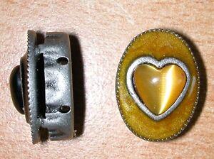 Uhren & Schmuck Süß GehäRtet Top Schmuckelement Oval Von Knorr Hobby Ca 1,2 X2cm Metall Mit Herz Gelb Neu HeißEr Verkauf 50-70% Rabatt