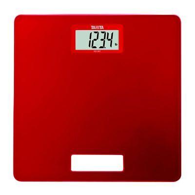 Open Box Tanita Hd-357 Red Travel Scale Snelle Warmteafvoer