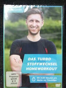 DVD Turbo Stoffwechsel Hungerstoffwechsel Homeworkout von