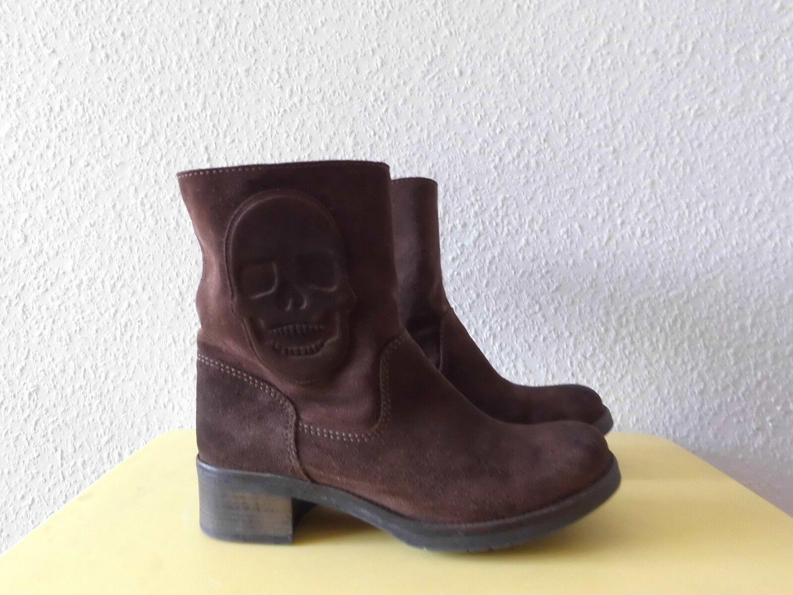 Stiefeletten Stiefel  Schlupfstiefel  LIEBESKIND Berlin Gr.38  Stiefel Leder  TOP da4e80