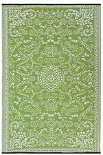FAB HAB Murano Lime Verde Crema Indoor OUTDOOR Tappeto Opaco 120 CM x 180