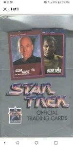 Star-Trek-Official-Trading-Cards-Series-I-25th-Anniversary-Box-Factory-Sealed
