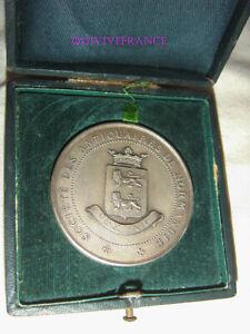 Doux Med8657 - Medaille Societe Des Antiquaires De Normandie - Prix Histoire & Geo