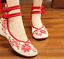 Chinese-Embroidered-Floral-Shoes-Women-Ballerina-Flat-Ballet-Cotton-Loafer-snug thumbnail 36