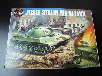 """Airfix """"carro Armato Stalin"""" Tank, Scala 1/72- Edizione 1976 Fabbricazione Abile"""