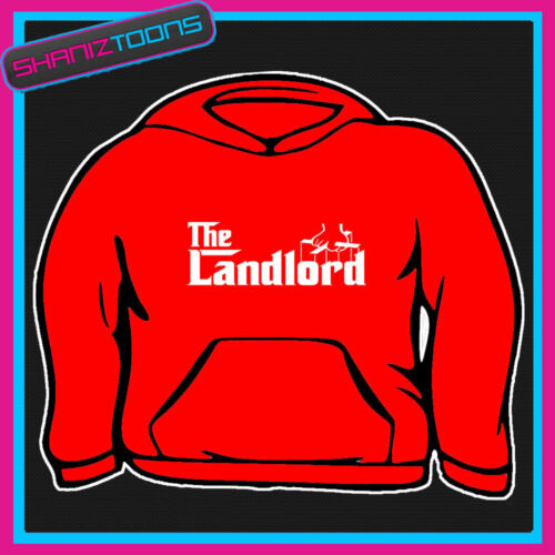 THE LANDLORD HOODY HOODIE ALL SIZES /& COLOURS
