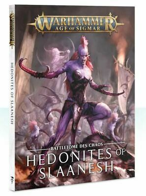 Chaos Battletome Hedonites Of Slaanesh (tedesco) Games Workshop Warhammer