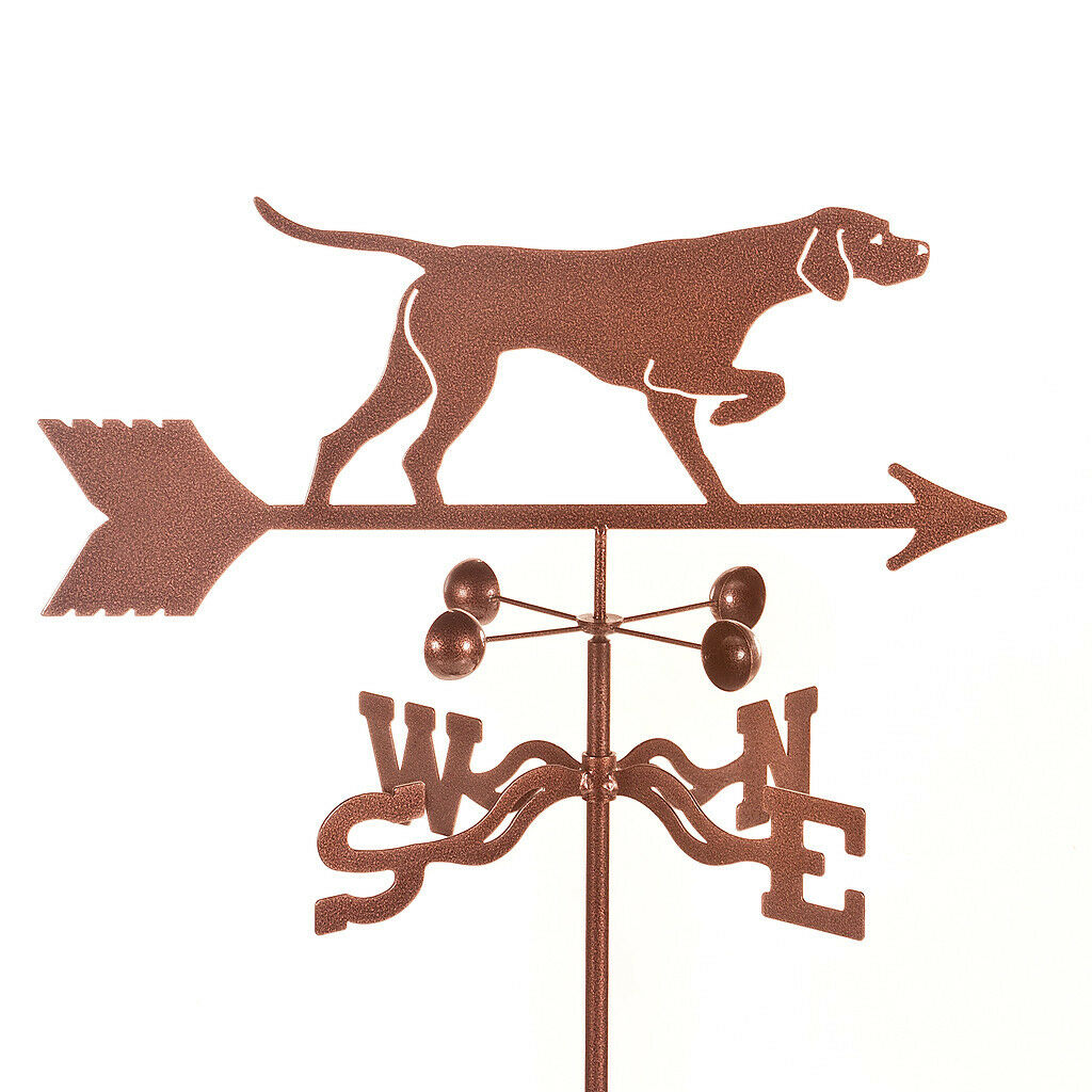 Dog - Hunting - Pointer, Weathervane, Weather Vane - Complete w/ Choice of Mount