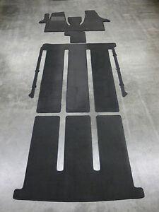 $$$ Original Lengenfelder Stoff Fußmatten für VW T5 Multivan VORNE NEU $$$