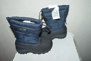 CHAUSSURE-BOTTES-NEIGE-BOOTS-APRES-SKI-C9-CHAMPION-TAILLE-23-SHOES-BOTAS-NEUF
