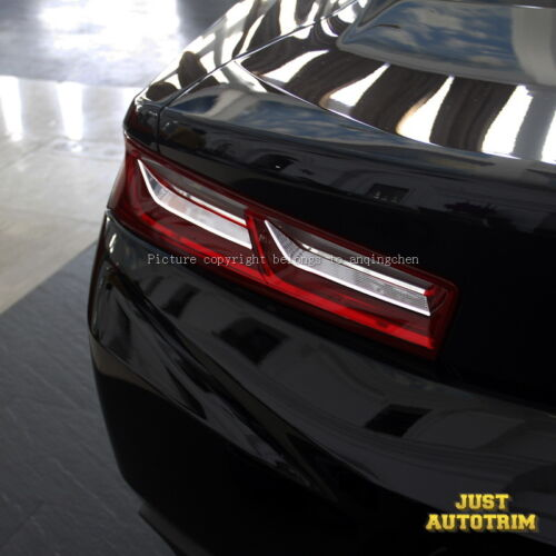 Chromed Rear Taillight Cover Moulding Trims For Chevrolet Camaro 2016 2017