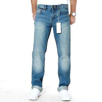 Efficiente S. Oliver | Uomo Slim Straight Fit Jeans-pantaloni | Tube 56y6 | Blu | W29-w31-