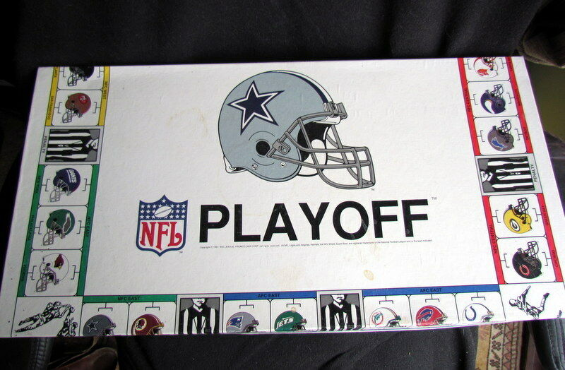 VINTAGE NFL PLAYOFF Board Game 1991. Scarce In The UK