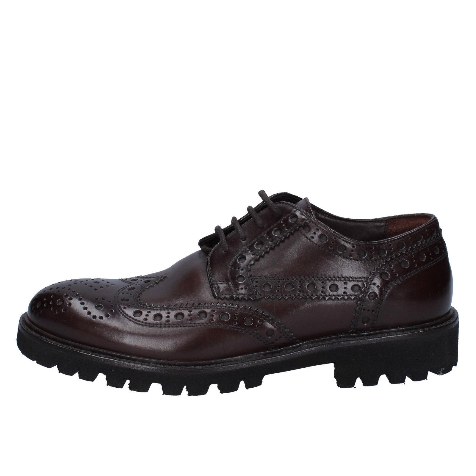 scarpe uomo TRIVER FLIGHT 39,5 BX570-39,5 EU classiche marrone pelle BX570-39,5 39,5 0868f0