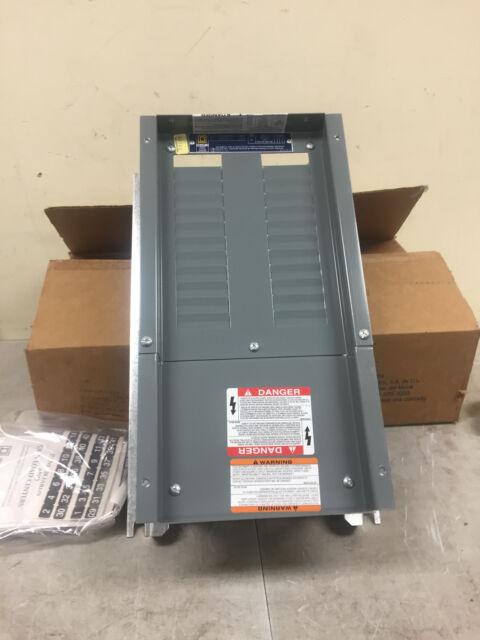 square d 100 amp 240 volt nqod424l100 main lug load center (loa1427square d 100amp panel board nqod424l100 nib 24 circuit pole