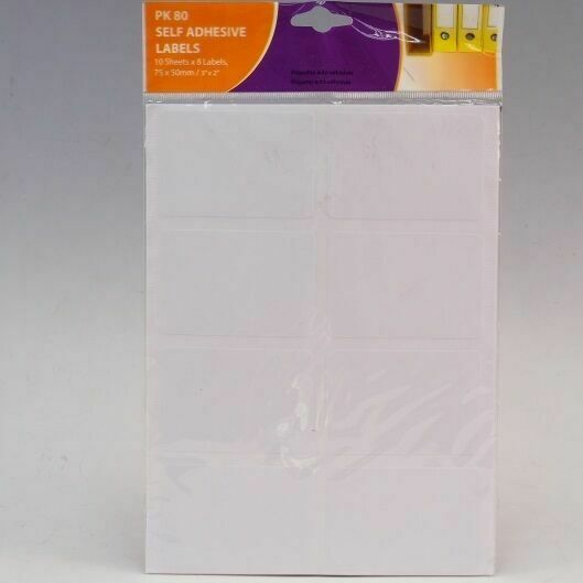 10 Sheets A4 Blank Labels Stickers Printer Sticky Self Adhesive Return Address