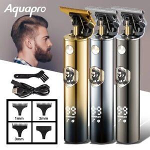 Tondeuse à cheveux électrique Rechargeables pour Hommes, rasoir, barbier