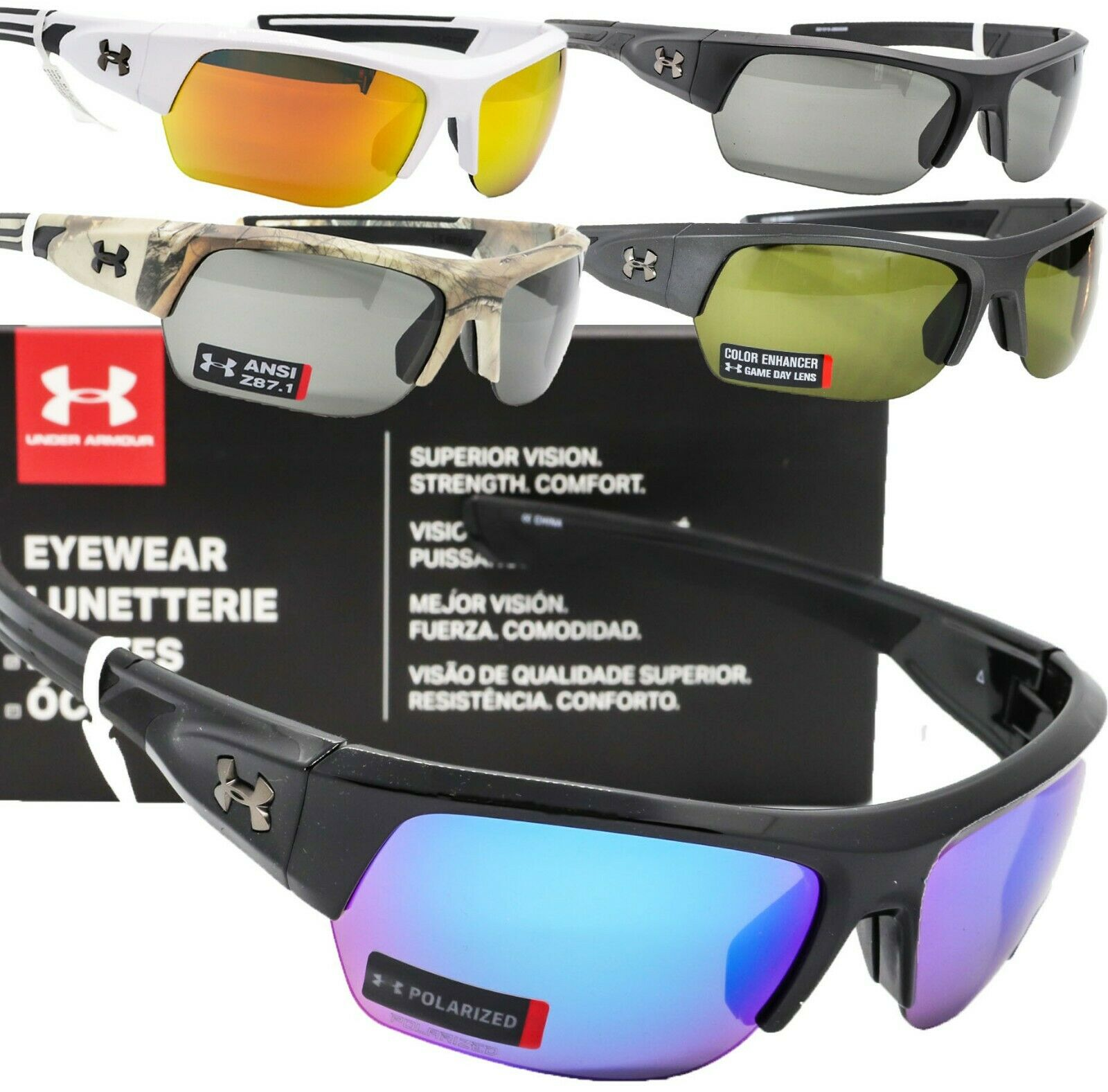 3 Colors Under Armour Youth Nitro Sunglasses