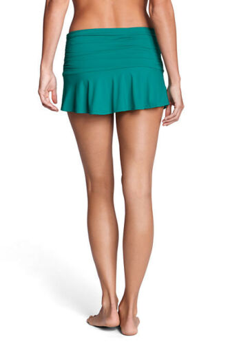 Lands/' End ~ Beach Living Women/'s 12 Petite Flounce Swimskirt $55 NIP