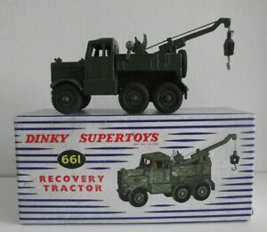 Dinky 661 Scammell Recovery Tractor - Boxed & Very Near Mint Condition (DT2036)