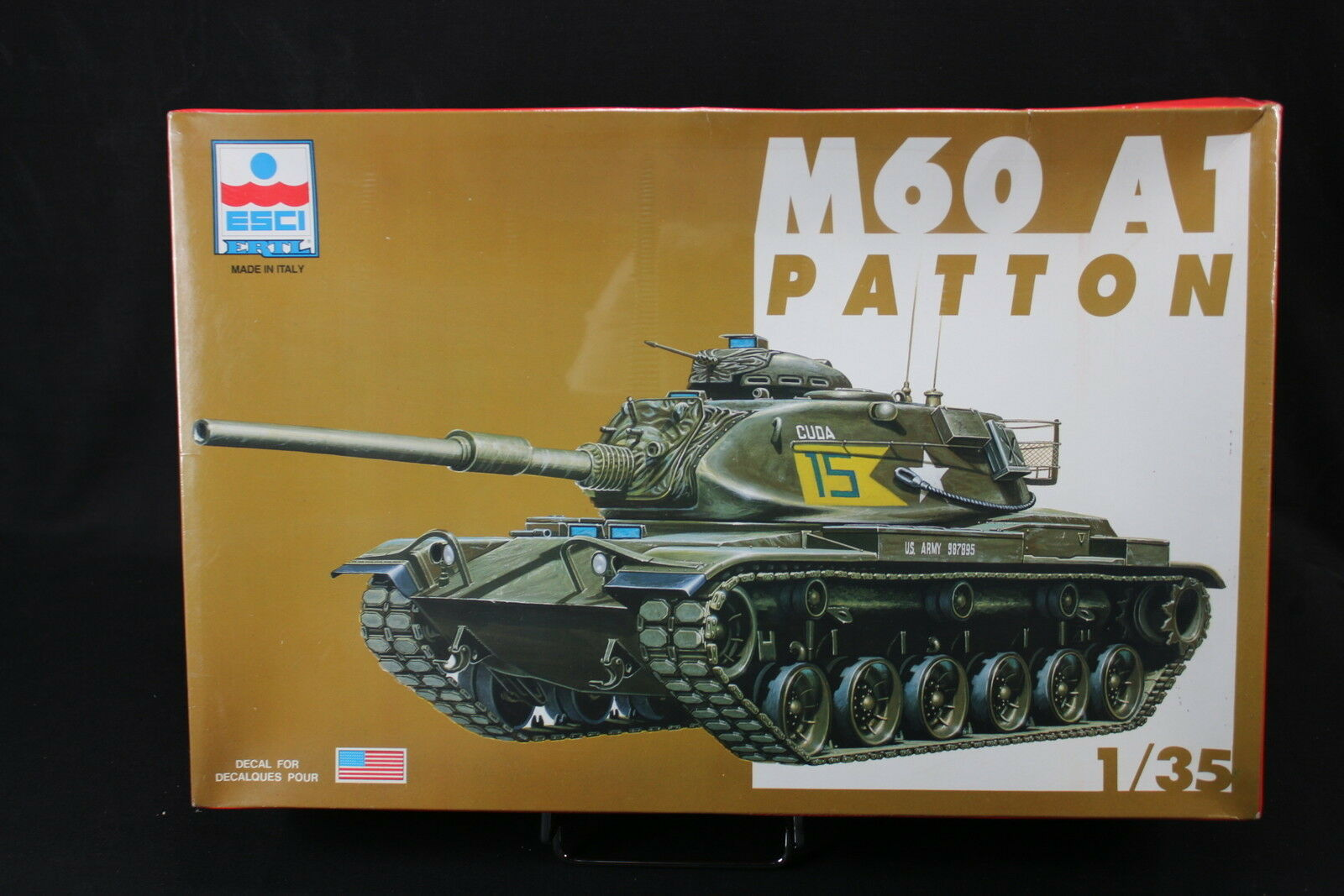 YC037 ESCI 1 35 maquette tank char 5039 M60 A1 Patton NB