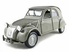 1952 CITROEN 2CV GRAY 1/18 DIECAST CAR MODEL BY MAISTO 31834