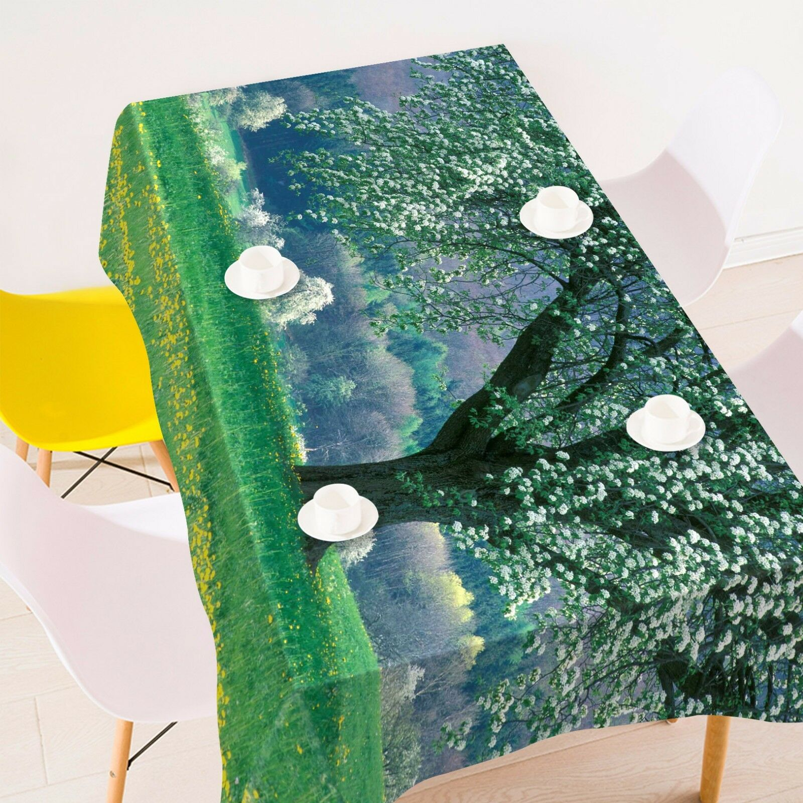 3D Scenery 453 Tablecloth Table Cover Cloth Birthday Party Event AJ WALLPAPER AU