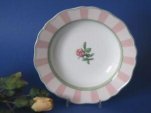Suppenteller 23 cm Hutschenreuther Medley pink