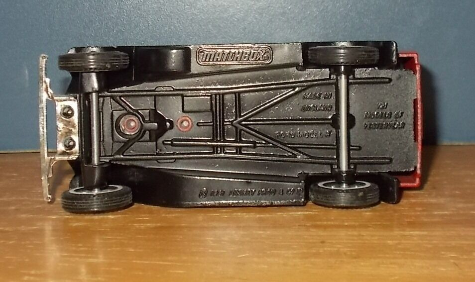 Matchbox Yesteryear Y22 Model A Ford Van Pre production with Extra Rivet