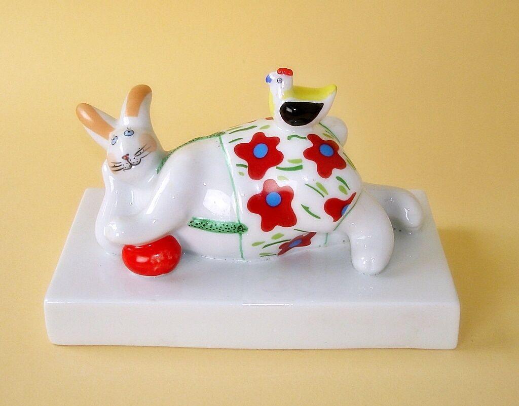 Villeroy und Boch Funny Ornaments, dreaming bunny DESIGN Rosamarie Benedikt  | Hohe Qualität