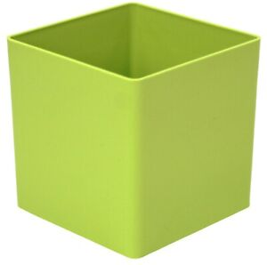 Small-Green-Cube-Plant-Pot-Planter-Indoor-Outdoor-Green