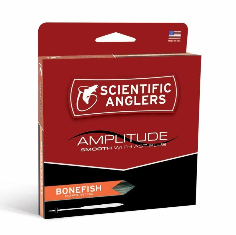 S A Amplitude Smooth Bonefish Fly Line - WF7F - New