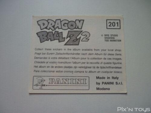 Panini 1994 Autocollant Stickers Dragon Ball Z 2 N°201