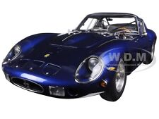 1962 FERRARI 250 GTO BLUE 1/18 DIECAST MODEL CAR BY CMC 152