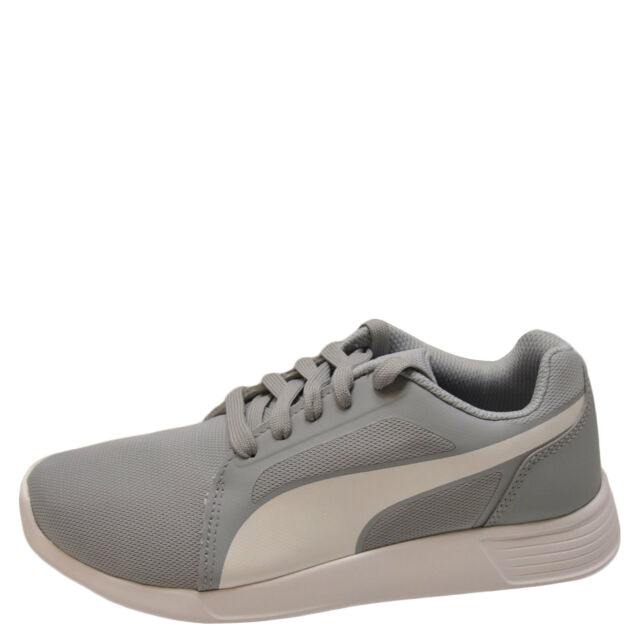 1ea6500451ce PUMA St Trainer EVO Women Round Toe Synthetic Gray SNEAKERS 8