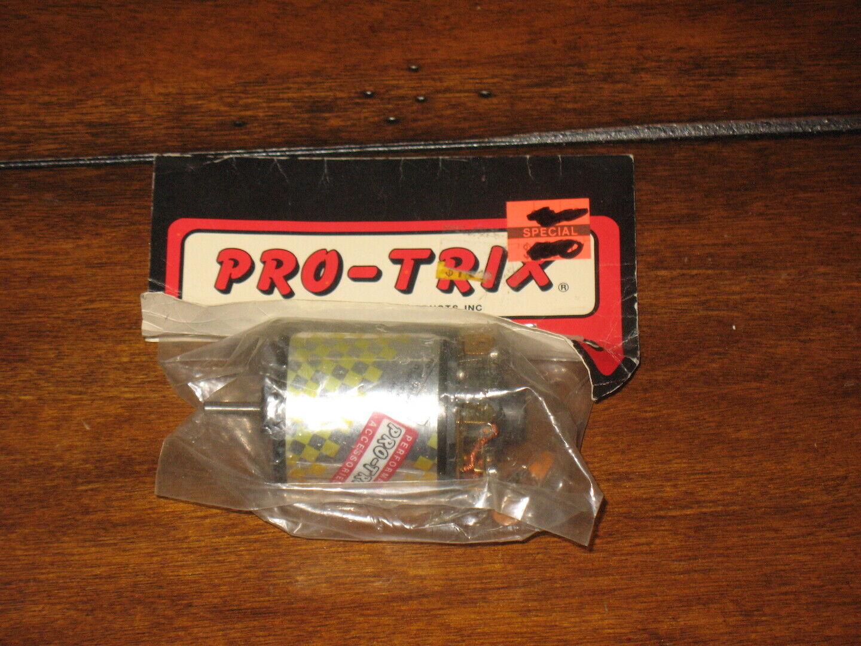 MRP Pro-Trix 8.4V Dirt Oval Sprint modificado cepillado Radio Control Motor Carrera Vintage RC10