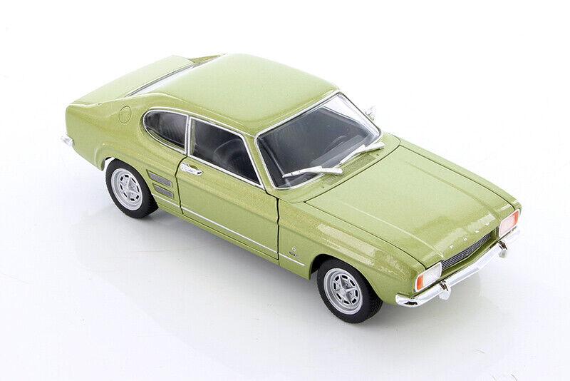 1969 Ford Capri Hardtop + 1 24 scale Display  case Made in USA   55.00  Achetez maintenant