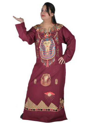 FK00120 Cleopatra Pharao Kostüm Damen-Kaftan Faschingskostüm Karnevalskostüm