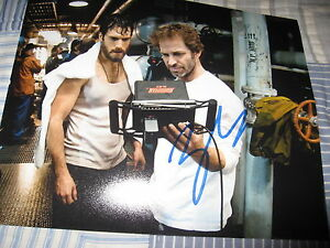 ZACH-SNYDER-SIGNED-AUTOGRAPH-8x10-PHOTO-MAN-OF-STEEL-PROMO-IN-PERSON-SUPERMAN-H