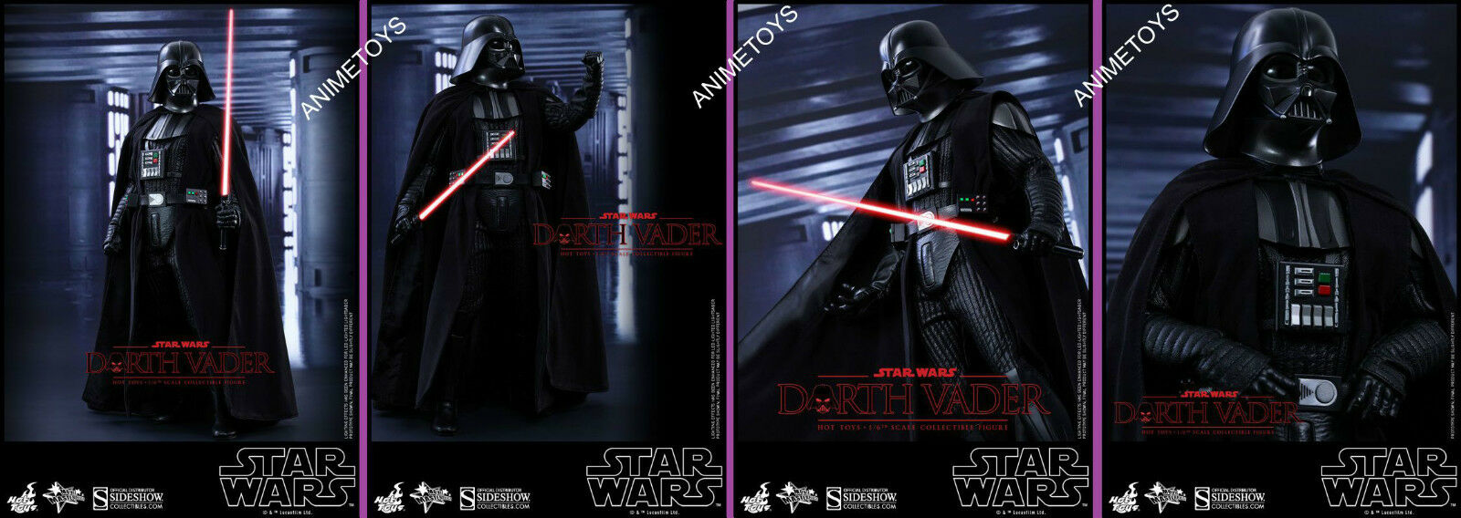 HOT TOYS – STAR WARS – Episode IV: A Nuovo Hope – Darth Vader – Movie Masterpiece