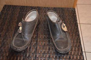 KICKERS-jolie-paire-de-chaussures-cuir-marron-Pointure-38-EXCELLENT-ETAT