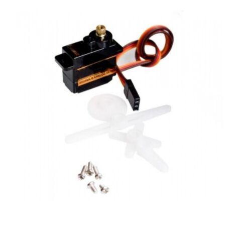 véritable Emax ES08MA II 12G Mini Metal Gear analogique servo pour modèle RC